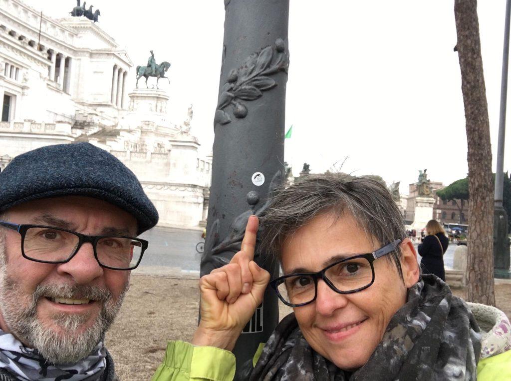 Andrea & Frank waren im November auch noch an den neuen Wolff Sports Hotspots in Rom